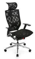 Бюрократ (BURO) Кресло руководителя 811, эргономичная черная сетка