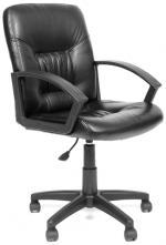 CHAIRMAN Кресло офисное 651 экокожа черная РТ