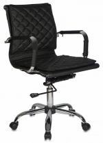 Бюрократ (BURO) Кресло офисное CH-991-Low черная экокожа, низкая спинка